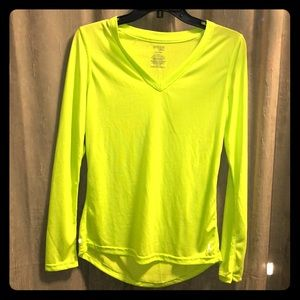 Semi-fitted small Dri-fit Long Sleeve shirt